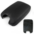 Leather Front Console Lid Armrest Cover Skin Honda Accord (2008-2012) Black