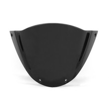 Windshield WindScreen Double Bubble For Ducati Monster 696 659 795 796 Black