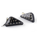 Front Indicators Flush Mount LED Turn Signals Suzuki GSXR 600 / 750 (00-12) GSXR 1000 (01-05), Smoke