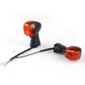 Front & REAR Indicators Turn Signals Set Kawasaki ZX ZR EX GPZ, Amber