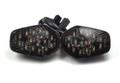 Smoke Turn Signals For Suzuki GSXR 600 750 1000 Flush Mount