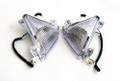 Front Turn Signals For Lens Kawasaki ZX10R 2004-2005 Clear