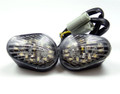 Clear Turn Signals For Yamaha YZF R6 R6S Flush Mount 2003-2007, Clear