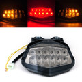 Integrated LED TailLight Turn Signals For Kawasaki EX250/Ninja 250R 2008-2012 Smoke