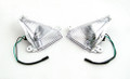 Front Turn Signals For Lens ZX 14R 10R 6R 636 Ninja 650F Clear