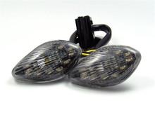 Smoke Turn Signals For Honda CBR 600 F3/F4/F4i CBR 600 1000 RR CB 919, Smoke