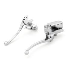Levers Set Hydraulic Brake Cable Clutch Honda VTX1300 (2003-2009) Chrome