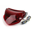 LED TailLight Turn Signals Suzuki GSXR 600 750 GSXR-600 (2004-2005), Red