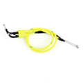 Throttle Cable Push Pull Wire Line Gas Yamaha YZF R1 YZF-R1 (2004-2006), Neon Yellow