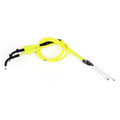 Throttle Cable Push Pull Wire Line Gas Yamaha YZF R6 YZF-R6 (06-16), Neon Yellow