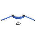 CNC Clip-on Adapter Plate & 22mm Handlebar Kit Yamaha MT-09 FZ-09 (13-16), Blue