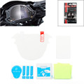 Cluster Scratch Protection Film Blu-ray Protector Kawasaki Z900 Z650 (2017), Clear