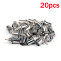 Mad Hornets 20PCS BNC Female Connectors Chassis Panel Mount