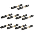 Mad Hornets 10PCS 3.5mm 4 Pole Stereo Audio Plug Jack Connector Solder
