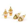 Mad Hornets 12PCS RCA Jack Panel Mount Chassis Socket Gold Plated