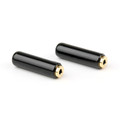 Mad Hornets 2PCS 2.5mm 4 Pole Female Audio Connector Soldering DIY Adapter