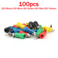 Mad Hornets 20PCS Binding Post Speaker Terminal 4mm Banana Plug