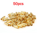 Mad Hornets 50PCS Gold Plated BNC Male Plug To RCA Female Jack Coax Cable Video Adapter