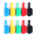 Mad Hornets 10PCS Insulated 4mm Banana Plug Test Probes Binding Posts Multimete