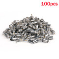 Mad Hornets 100PCS BNC Female Connectors Chassis Panel Mount