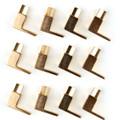 Mad Hornets 12PCS Speaker Fork Terminal Spade 4mm Banan Plug