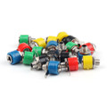 Mad Hornets 20PCS 4mm Banana Socket Jack Banana Plug Connector
