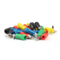 Mad Hornets 100PCS Binding Post Speaker Terminal 4mm Banana Plug