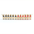 Mad Hornets 12 PCS Copper Crystal Post 4MM Banana Plug For Speaker Amplifier