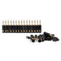 Mad Hornets 20PCS 3.5mm Stereo Male Repair Headphone Jack Plug Metal Audio Soldering Adapter