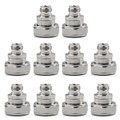 Mad Hornets 10PCS Adapter 7/16 DIN Plug Male To N Female Jack RF Connector Straight M/F