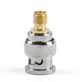 Mad Hornets 1Pc Adapter BNC Plug Male To SMA Female Jack RF Connector Straight