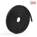 Mad Hornets 1PCS 5m Timing Belt Open Rubber 2GT 6mm Pulley 3D Printer CNC
