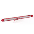 Universal 23 LED Rear Light Bar Stop Turn Tail 3rd Brake Light For Bus 971, Red