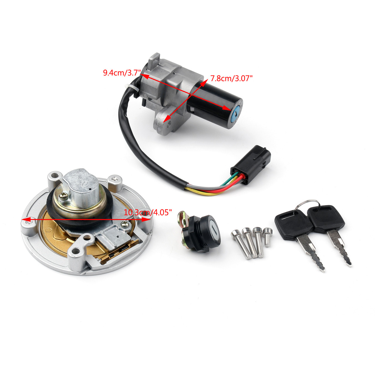 Ignition Switch Lock Fuel Gas Cap Key Set For Ducati 848 1098 1198 748 Pump Wiring Monster1200