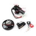 Ignition Switch Seat Gas Cap Cover Lock Key Set for Kawasaki KL110 KLX125 KLX250