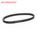 Drive Belt 23100-L6C-0000 For SYM 23100-L6C-0000, Maxsym 600i, SYM Maxsym 600i ABS (11-15) Black