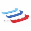 M Power Kidney Grille Buckle Color Strip Decorate Grill Covers BMW F20 F21 1 Series  11 Rod (12-14)