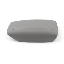 Armrest Cover Leather Synthetic Center Console Lid for Volvo S80 (1999-2006) Gray