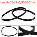 Mad Hornets 2PCs 400mm Timing Belt Closed Loop Rubber For 2GT 6mm 3D Printer