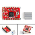 Mad Hornets 5PCs A4988 Stepper Driver With Heatsink For 3D Printer Compatible To Arduino