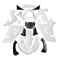 Fairings Kawasaki ZX 10R West Racing Primal only Unpainted (2006-2007) (Fairing-ZX10R-0607-999)