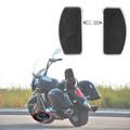 Front Floorboard Footboard For Suzuki Intruder Volusia 400 800, Black