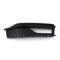 Right Bumper Fog Light Lamp Cover Grille Grill For AUDI A4 S-line S4 (2013-2015)