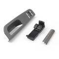 Driver Side Window Switch & Panel Trim Bezel Kits For VW Golf MK4 2 Door (98-06) Gunmetal