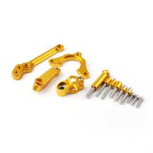 CNC Steering Damper Stabilizer Linear Bracket For Kawasaki Z900 (2017) Gold