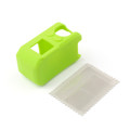 Silicone Case Cover + Screen Protectors For Garmin Virb X XE Camera, Green
