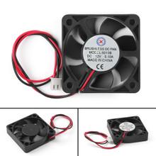 Mad Hornets 50mm x 10mm 5010B DC 12V 0.1A 2 Pin Brushless Cooling Fan Ball Bearing