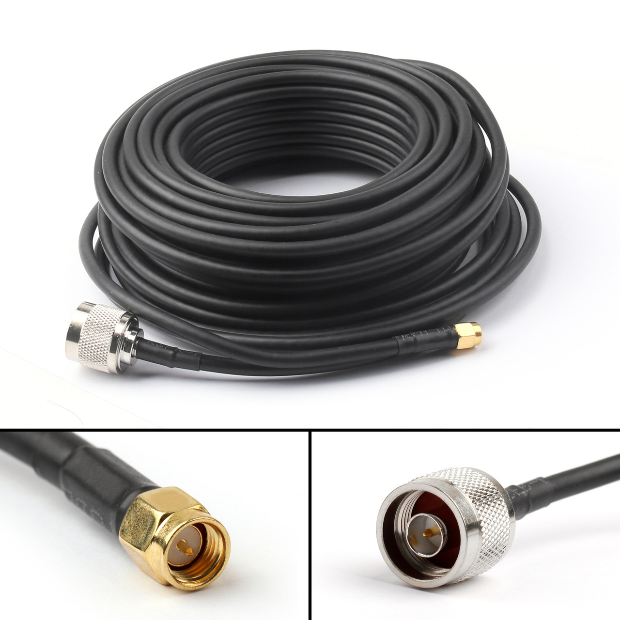 16ft SMA Male to SMA Female WIFI Antenna Extension Cable Router Pigtail RG58 5M