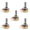 Mad Hornets 5PCS B104 B100K 100K Ohm 3Pin Adjustmen  Single Linear Rotary Potentiometer 20MM
