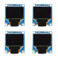 "Mad Hornets 4PCS 0.96"" I2C IIC Serial 128*64 Blue 7Pin OLED LED Display Module for Arduino"